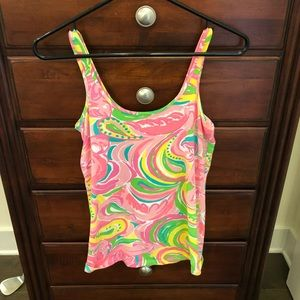 Lilly tank top, cotton. Small.
